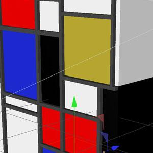 Mondrian mapping